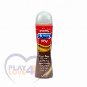 DUREX PLAY REAL FEEL Silikonowy ŻEL INTYMNY 50 ml