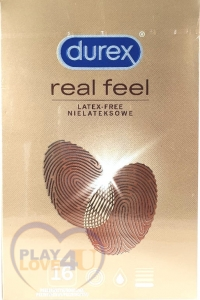 PREZERWATYWY DUREX REAL FEEL latex free 16 szt